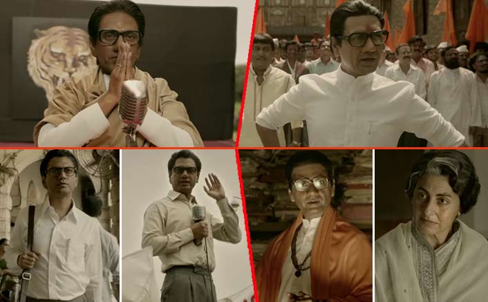 A mammoth set awaits on screen Thackeray Nawazuddin Siddiqui at the trailer launch today