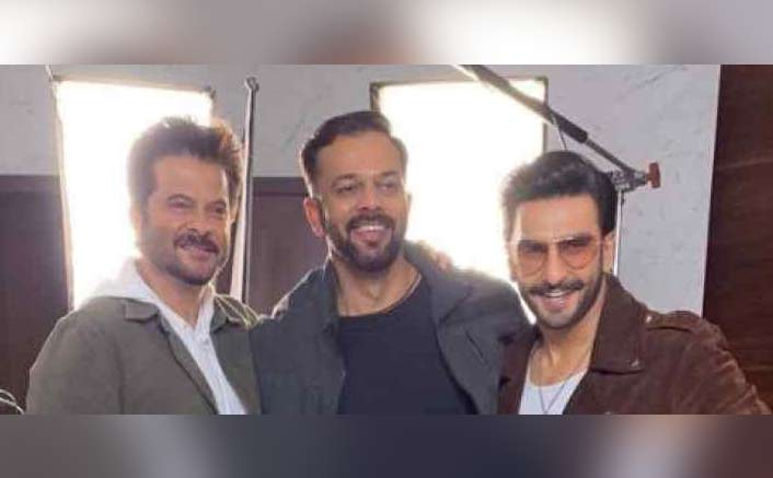 Here's All About Ranveer Singh, Anil Kapoor & Rohit Shetty's Impromptu Meet Up!