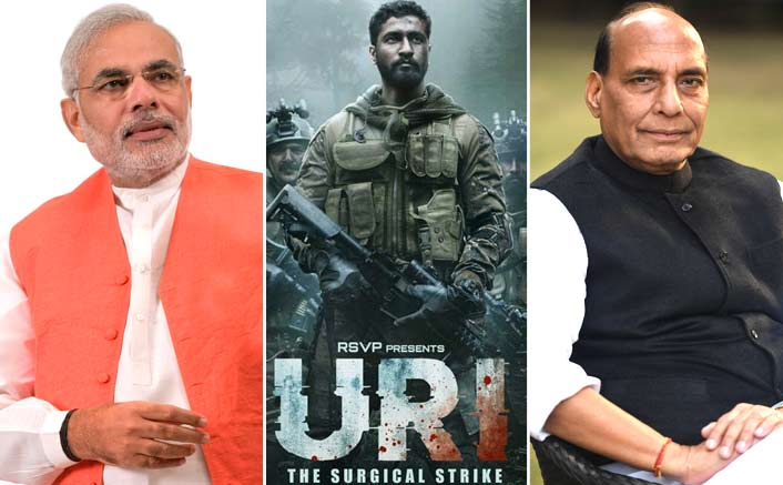 Based on a real-life incident, URI refers to PM Narendra Modi and Home Minister Rajnath Singh!!