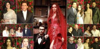 Bollywood dazzles at Ranveer-Deepika's wedding reception