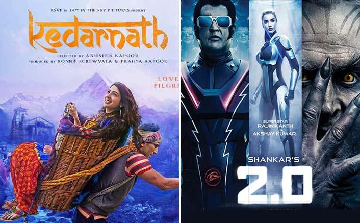 Box Office - Kedarnath and 2.0 [Hindi] keep the footfalls going on Tuesday
