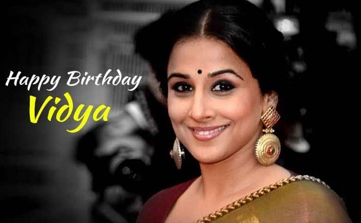 Happy Birthday Vidya Balan