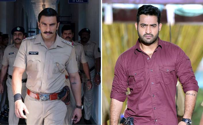 Is Simmba a complete remake of Telugu super hit film Temper?