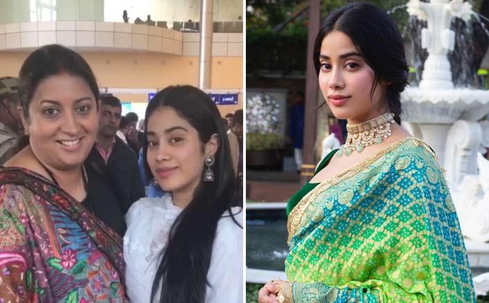 Janhvi Kapoor calls Smriti Irani 'aunty'