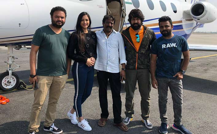 KGF stars Yash and Srinidhi took a success tour to Hyderabad!