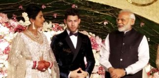 Modi attends Priyanka-Nick's Delhi reception