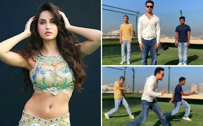 Nora Fatehi challenges Tiger Shroff to a dance off and their fans are going crazy!