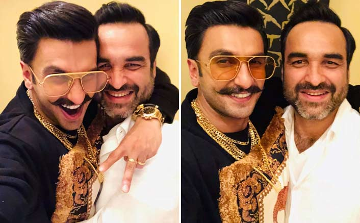 Ranveer Singh and Pankaj Tripathi shares mutual fondness and admiration for each other. And these pictures are a proof!