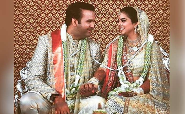 India's £80m Ambani-Piramal wedding reaches 'I do' at last