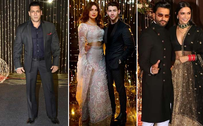 Salman, Katrina, others attend Priyanka-Nick wedding reception