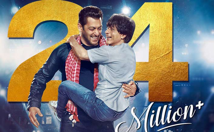 Shah Rukh & Salman Khan's dance-off song 'Issaqbaazi' crosses 24 Mn views in 24 hours