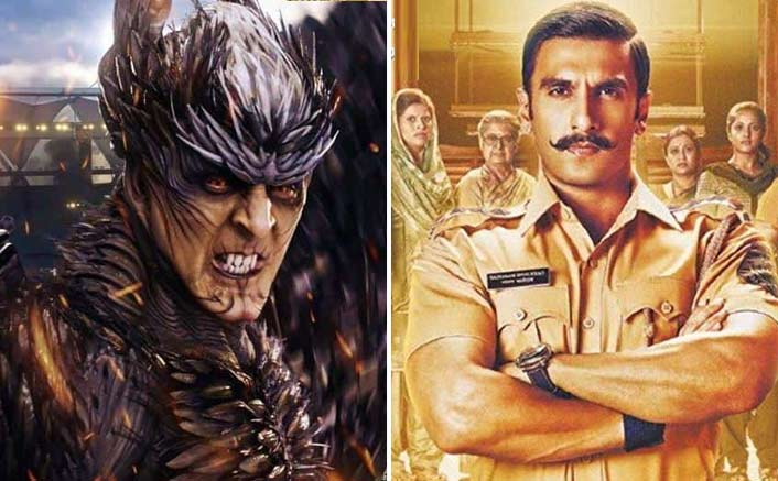 Simmba: With 300.26 Cr Already In Kitty, Ranveer Singh Is All Set To Beat Akshay Kumar's 374.32 Cr & Become The Most Successful Of 2018!