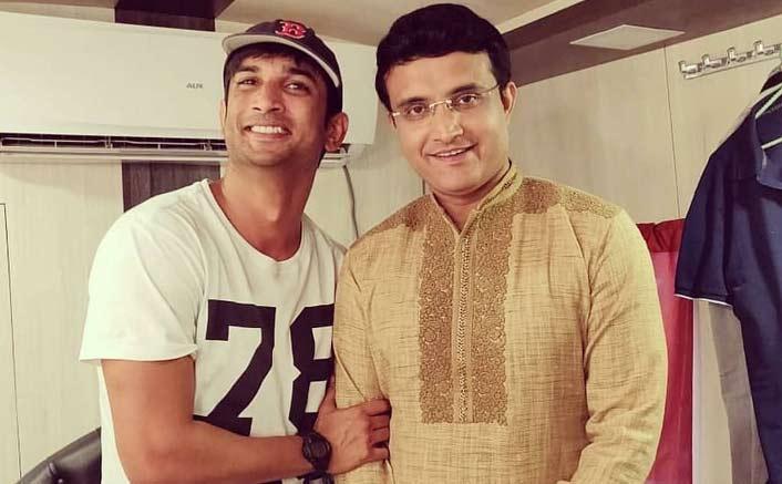 When Sushant Singh Rajput met Sourav Ganguly