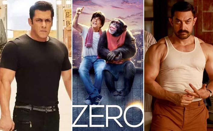 Zero's 20 Crores Vs Last 3 Releases Of Salman Khan & Aamir Khan