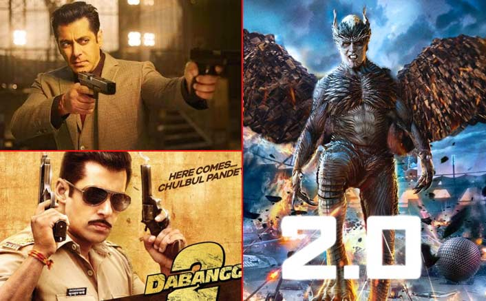 2.0 (Hindi) Worldwide Box Office Collections: With 275 Crores, It BEATS Salman Khan's 2 Films In The List