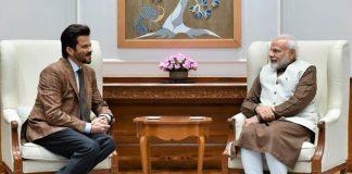 Anil Kapoor meets PM Modi in Delhi