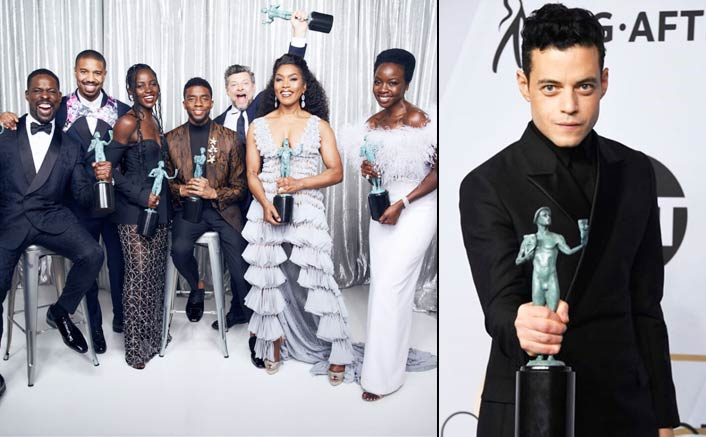 'Black Panther', Rami Malek, Glenn Close win big at SAG Awards