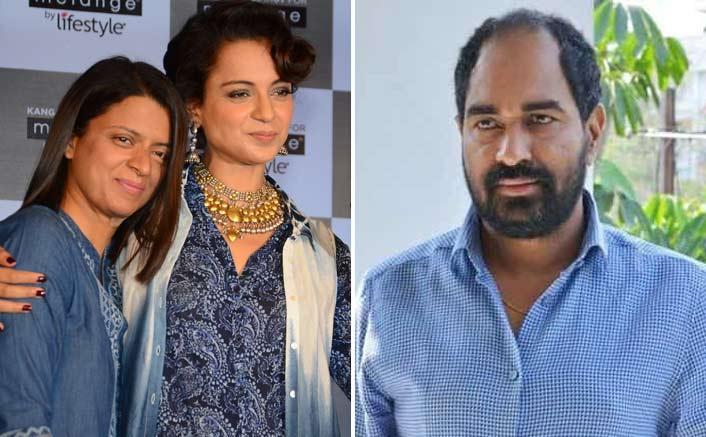 Kangana Ranaut's Sister Rangoli Calls Director Krish As 'Laaton Ke Bhoot'