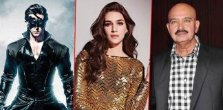Kriti Sanon laughs off rumor of her approaching Rakesh Roshan for a role if Krrish 4!