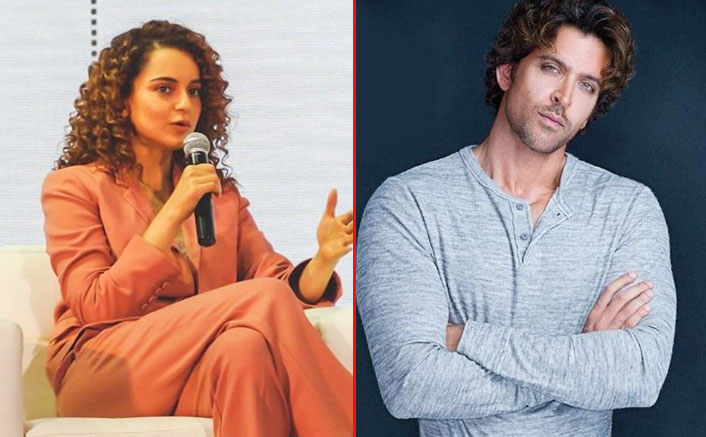 A Hrithik Roshan Fan Spreads Hatred For Kangana Ranaut Through Old 'Beef Eating ' Statement; Her Team Gives A Befitting Reply!