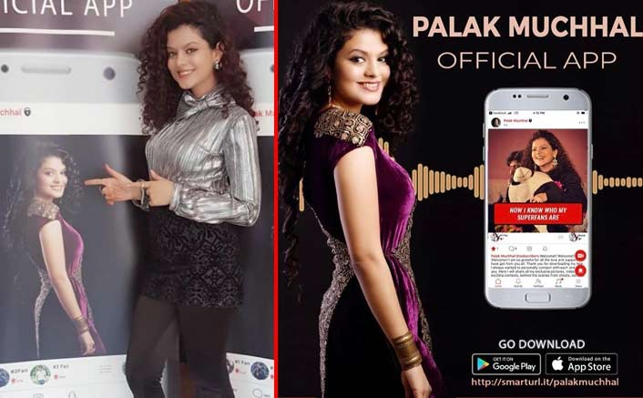 Palak Muchhal launches personal app
