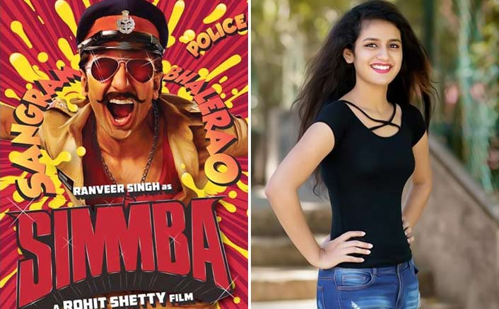 Wanted to be part of 'Simmba': Priya Prakash Warrier
