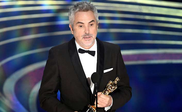 Alfonso Cuaron wins Best Director for 'Roma'