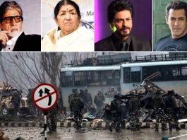 Amitabh, Lata Mangeshkar, SRK condemn 'barbaric' Pulwama attack