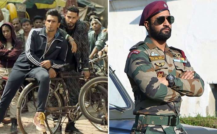 Box Office - Ranveer Singh's Gully Boy goes past his Ram Leela, Uri - The Surgical Strike grows further on Sunday