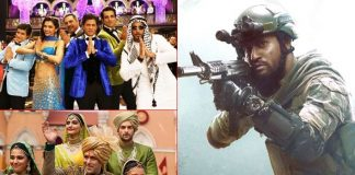 ox Office - Uri - The Surgical Strike edges past Shah Rukh Khan's Happy New Year lifetime, set to surpass Salman Khan's Prem Ratan Dhan Payo today