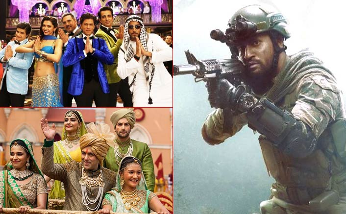 Box Office - Uri - The Surgical Strike edges past Shah Rukh Khan's Happy New Year lifetime, set to surpass Salman Khan's Prem Ratan Dhan Payo today