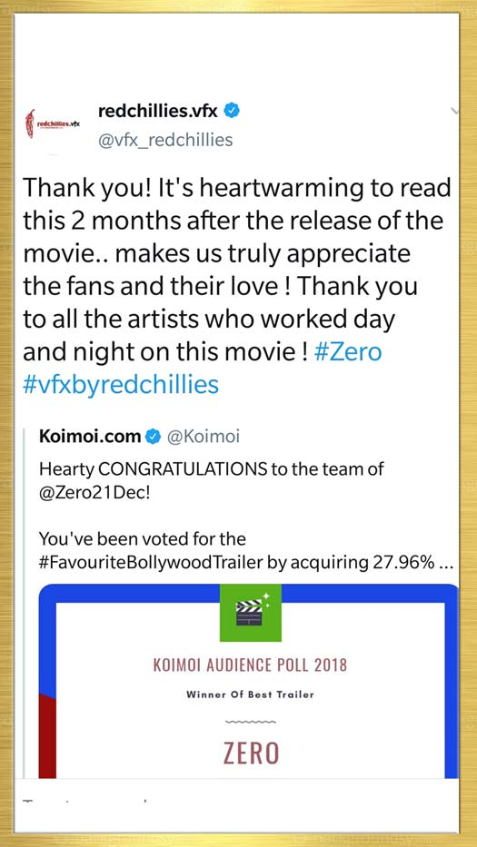 Bollywood REACT On Koimoi Audience Poll 2018