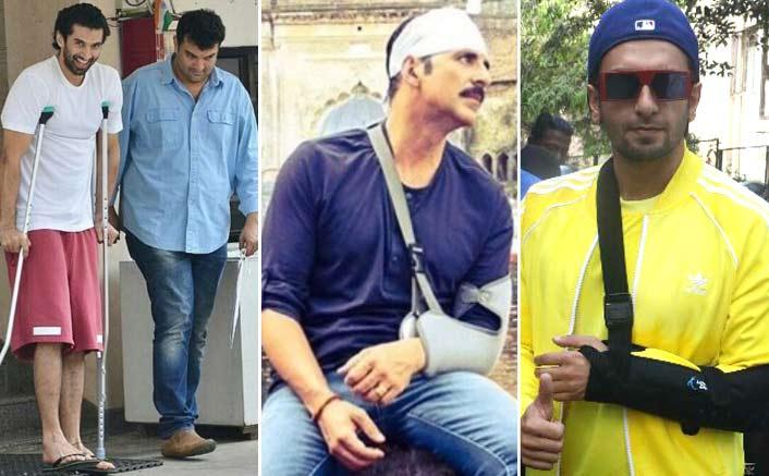 Alia Bhatt, Ranveer Singh, Akshay Kumar & 3 Other Actors Who Continued Shooting Despite Injuries