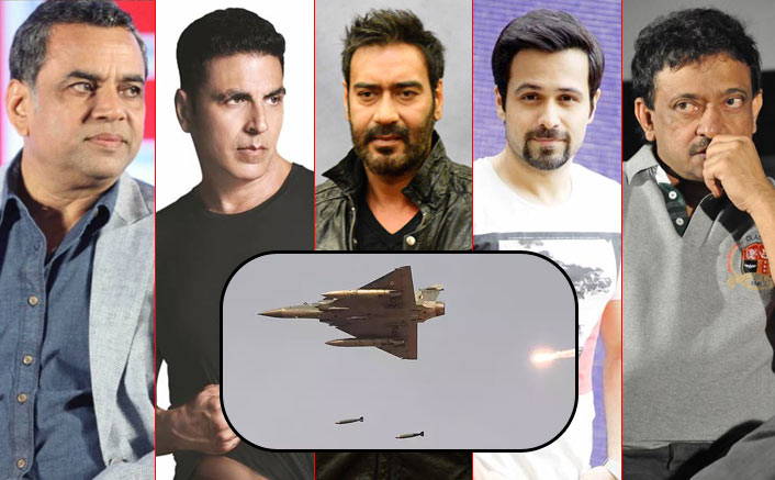 #IndiaStrikesBack: 10 Kickass Reponses By Ajay Devgn, Paresh Rawal & Bollywood Celebs That Will Leave The Opponents Burning!
