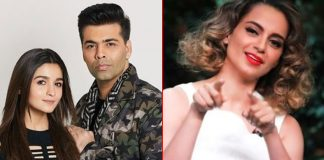 "Kangana Ranaut Hits Alia Bhatt & Karan Johar: ""Nepotism Gang Life Is Simply Restricted To Give & Take Favours"""