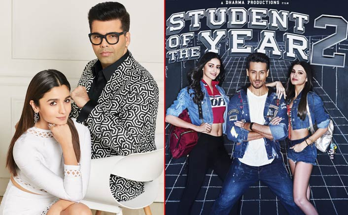 Karan Johar Ensures His Favourite Student Alia Bhatt Is A Part Of Student Of The Year 2! Here's How