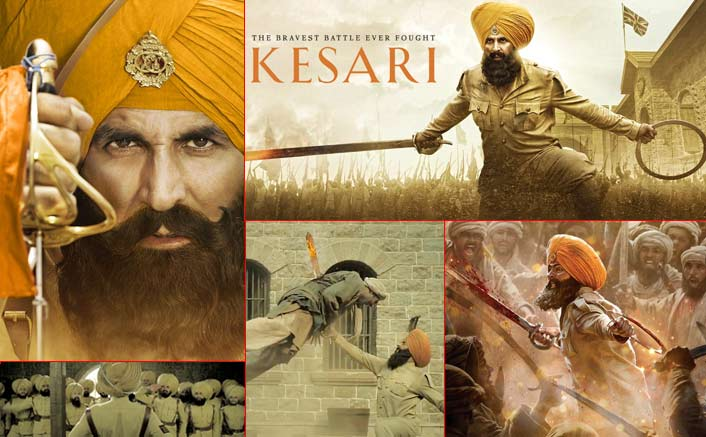 Ahead of Kesari trailer release, Akshay Kumar shares an intense new poster