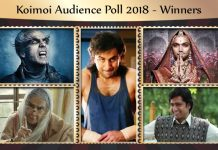 Koimoi Auidence Poll 2018: 1.50 Lakhs Vote Over 27 Categories! Check The Entire List Of Winners