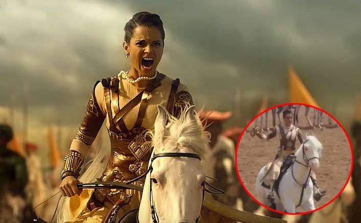 Manikarnika VIRAL Video: What's The Big Deal About Kangana Ranaut Using A Mechinal Horse?