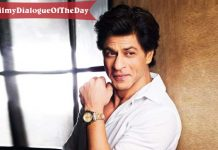 #MondayMotivation: Today's #FilmyDialogueOfTheDay Features Shah Rukh Khan & His Unmatchable Charm!