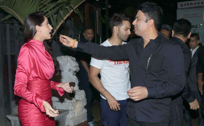 Nora Fatehi celebrates her birthday with Bhushan Kumar and others at a midnight bash in Mumbai