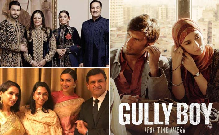 Padukones and Bhavnanis to watch Gully Boy together!