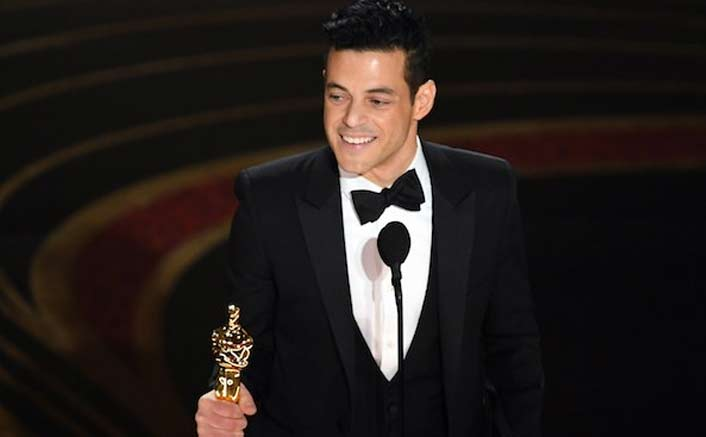 Oscars 2019 Mishap: Best Actor Rami Malek Falls Off The Stage!