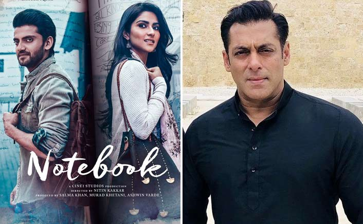 Salman Khan to launch the trailer of Notebook amidst fans