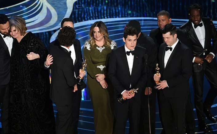 'Spider-Man: Into the Spider-Verse' wins Best Animation Oscar