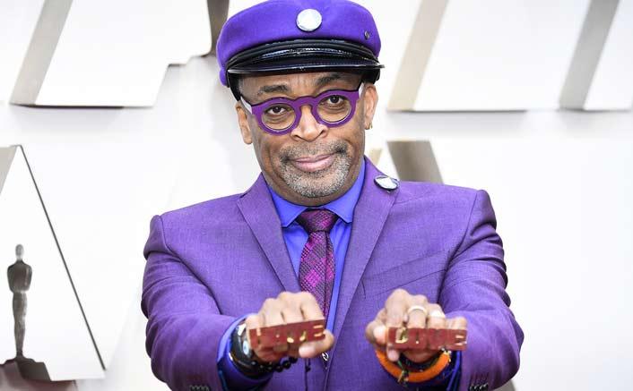 Spike Lee makes political comment as 'BlacKkKlansman' wins Oscar