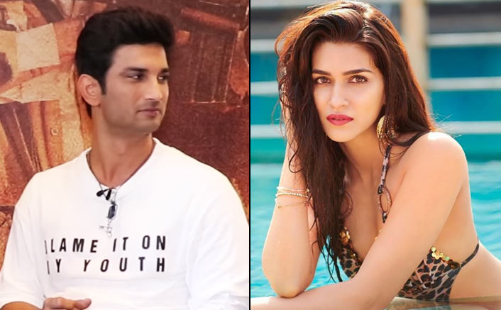 Sushant Singh Rajput Wants To Steal Kriti Sanon's Surname! WATCH VIDEO