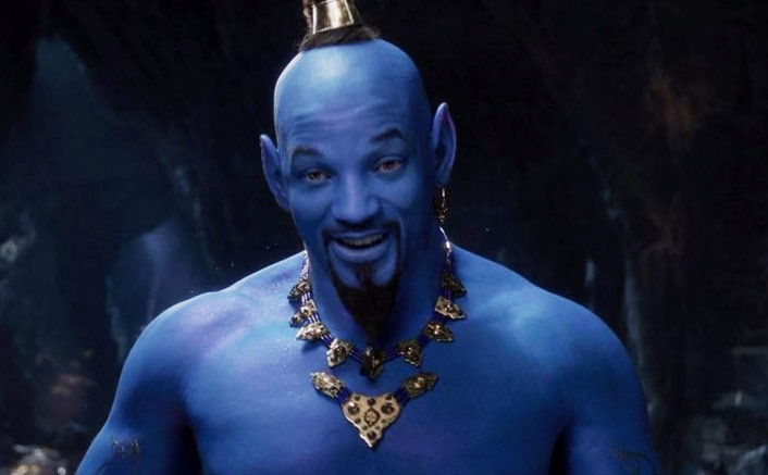 Will Smith found playing role of Genie stressful