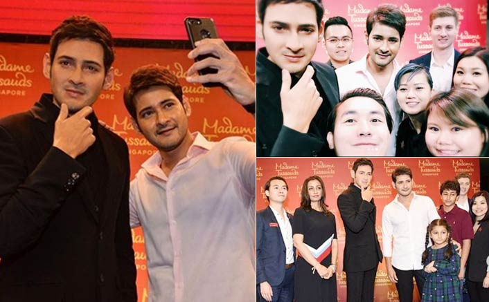 Actor Mahesh Babu's wax statue unveiled