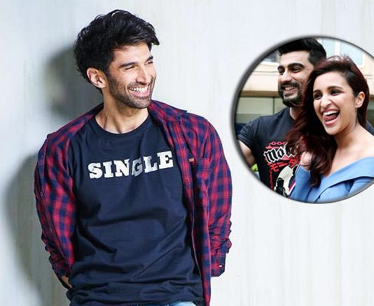 Aditya claims he's single, Arjun calls him liar